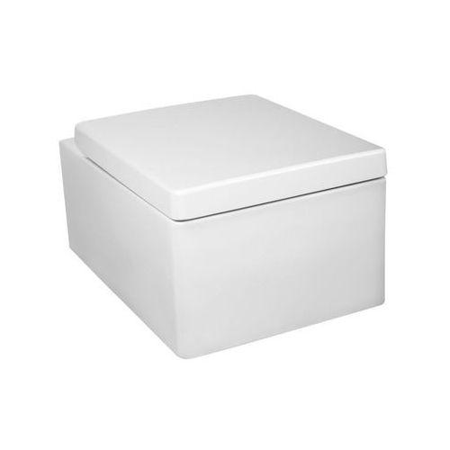 Miska podwieszana WC śnieżnobiała z deską Thor 16 Kerra (5907548106605)