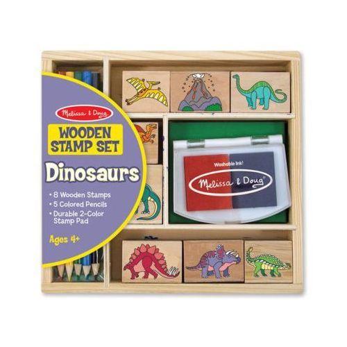 Drewniane Pieczątki MELISSA & DOUG Stemple dinozaury 11633 (0000772116336)