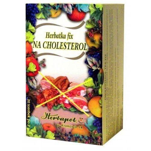 Herbapol kraków Herbatka na cholesterol fix 2g x 20 saszetek