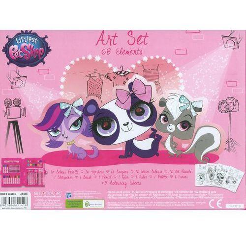 - littlest pet shop - zestaw artystyczny, 68 elementów - starpak wyprodukowany przez Starpak