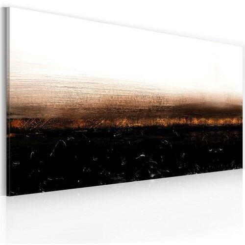 Obraz malowany - black soil (abstraction) marki Artgeist