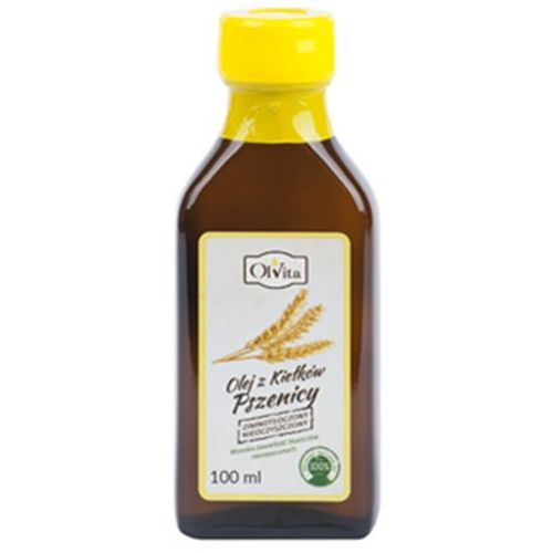 Ol'vita Olej z kiełków pszenicy tłoczony na zimno, nieoczyszczony 250ml - olvita (5907591923211)
