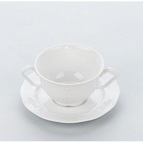 Spodek do bulionówki/filiżanki porcelanowej prato marki Karolina