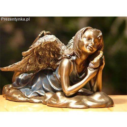 Leżący aniołek prezent dla niej