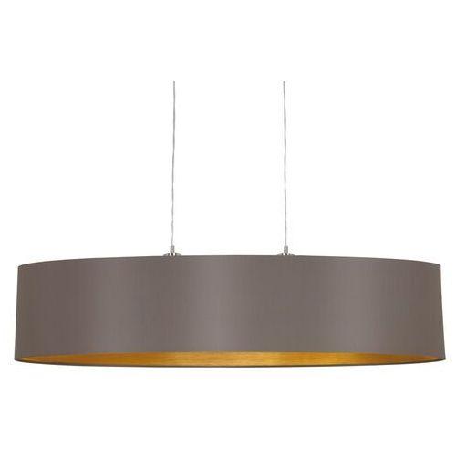 Eglo 31619 - lampa wisząca maserlo 2xe27/60w/230v (9002759316198)