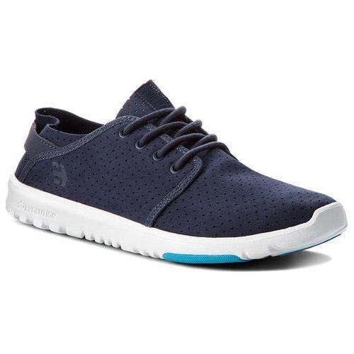 Sneakersy ETNIES - Scout 4101000419 Dark Grey/Blue 061