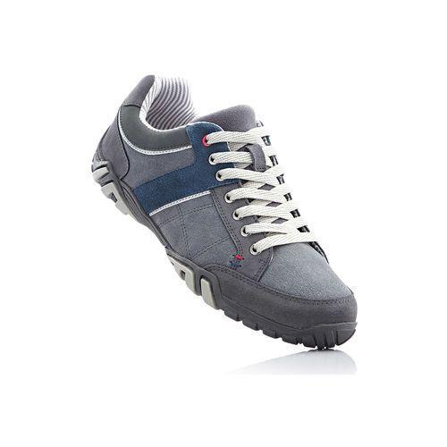 Skórzane buty sportowe szary, Bonprix, 39-40