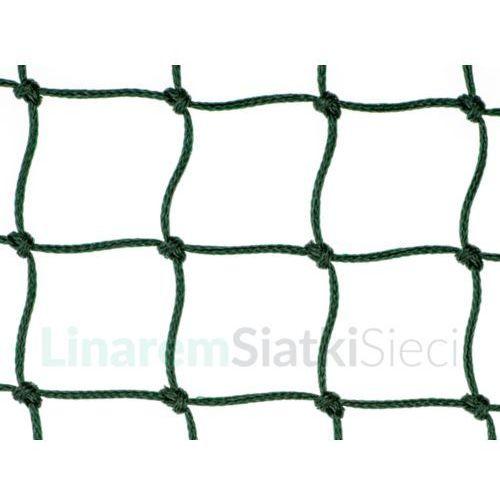 Siatka piłkarska. Polietylenowa siatka do piłki nożnej oko 48mm x 48mm splotka fi 3mm.
