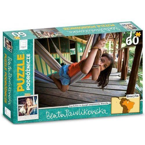 Firma ksiegarska Puzzle podróżnicze – brazylia