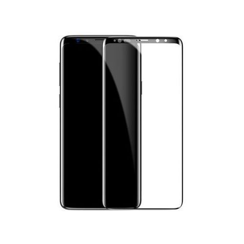 Baseus szkło hartowane 3d samsung galaxy s9+ plus 0.3 mm black (6953156272255)