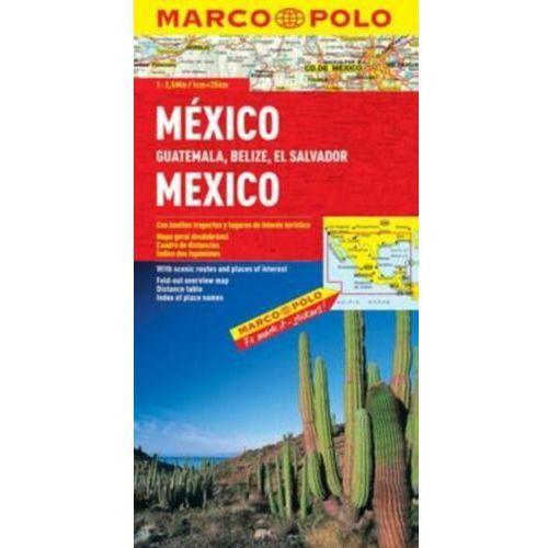 Meksyk 1: 2,5 mln - mapa Marco Polo, Marco Polo