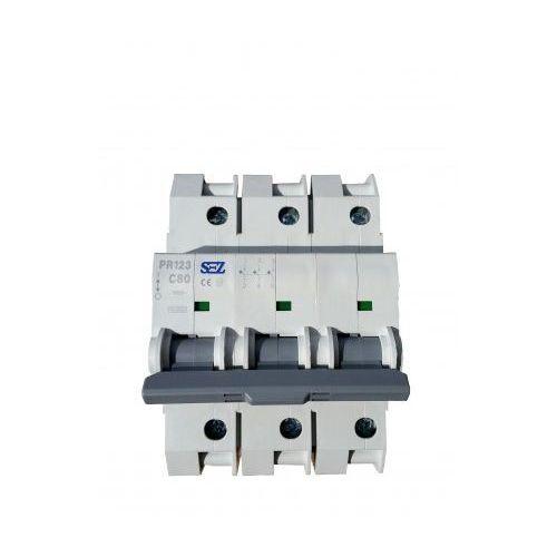 C80A 3P 10kA Wyłącznik nadprądowy bezpiecznik Typ S eska PR123 SEZ 6557 (8585009006557)