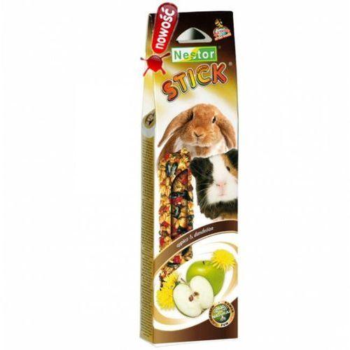 kolba dla gryzoni i królików smaki świata z jabłkami i mniszkiem lekarskim, 2szt. marki Nestor