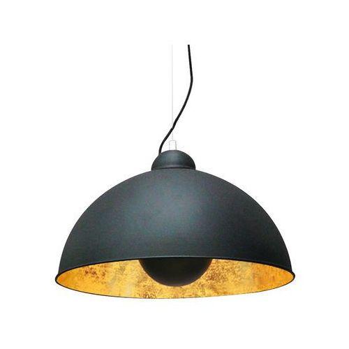 antenne lampa wisząca 1* e27 max 60w black with gold inside ts-071003pm-bkgo marki Zumaline