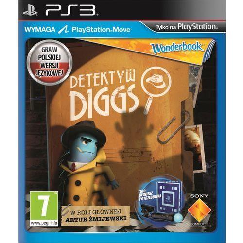 Gra PS3 SONY Wonderbook: Detektyw Diggs + książka + PlayStation Move + PlayStation Eye