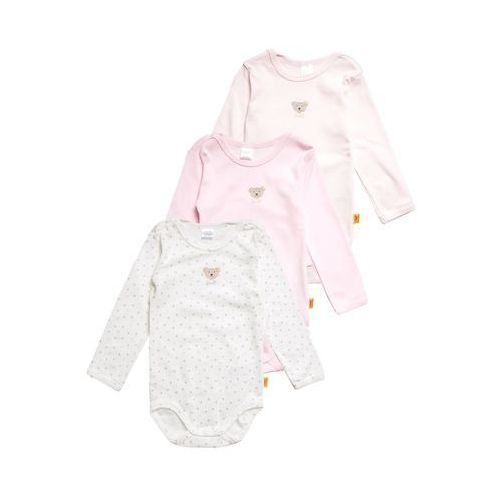 Steiff Collection 1/1 ARM ESSENTIALS 3 PACK Body barely pink/rose, kolor różowy