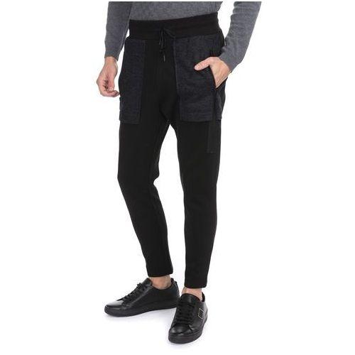 spodnie dresowe czarny xl marki Antony morato