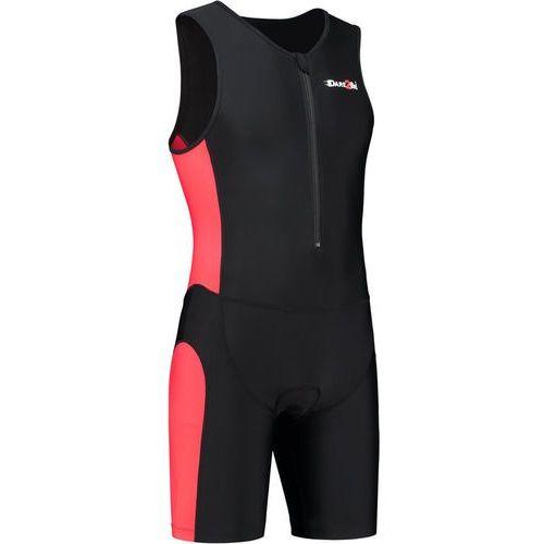 Dare2Tri Frontzip Trisuit Mężczyźni czerwony/czarny M 2018 Pianki do pływania (8718858566037)