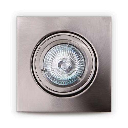 MAXlight H0040 Oczko lampa oprawa wpuszczana downlight 1X50W GU5.3 12V satyna, H0040