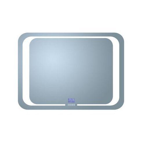Lustro łazienkowe z oświetleniem wbudowanym TIMER 80 x 60 VENTI (5907722357946)