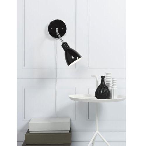 Elastyczna lampa ścienna CYCLONE czarna