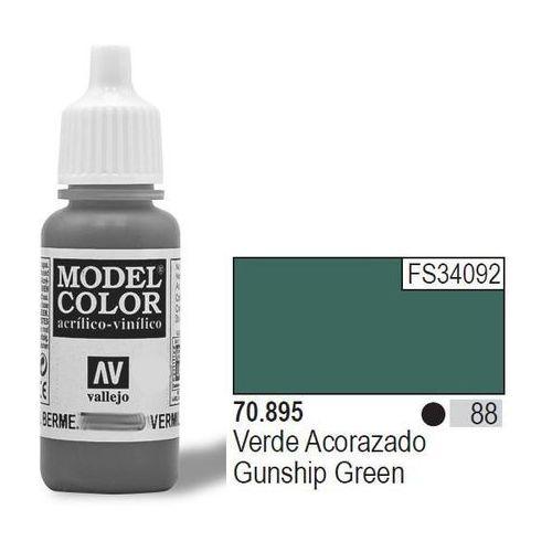 Vallejo  farba nr88 gunsh ip green 17mlmatt (8429551708951)