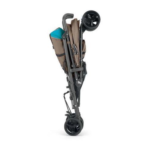 CAM Wózek spacerowy Flip + pokrowiec na nóżki – niebiesko-fioletowy - produkt z kategorii- Wózki spacerowe