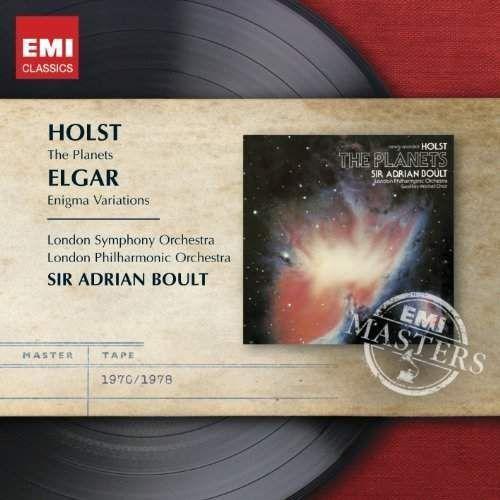 ENIGMA VARIATIONS / THE PLANETS - Adrian Sir Boult (Płyta CD), 6230772