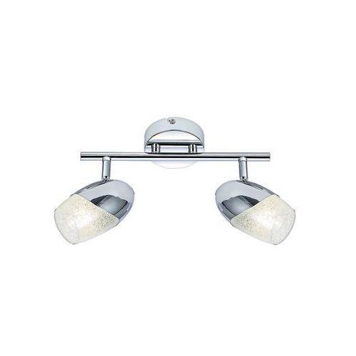Listwa Rabalux Jennifer 5921 lampa sufitowa 2x40W E14 chrom
