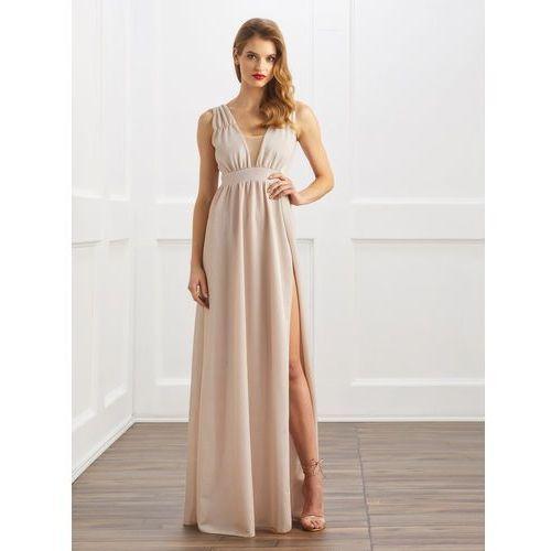 Sukienka Ellie w kolorze złotym