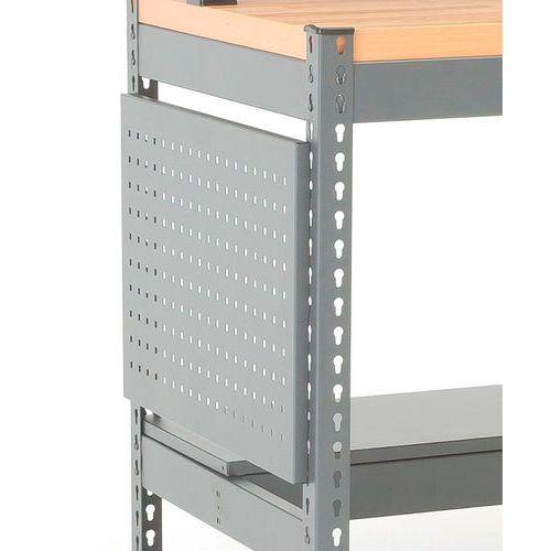 Panel narzędziowy 713x450 mm, szary marki Aj produkty