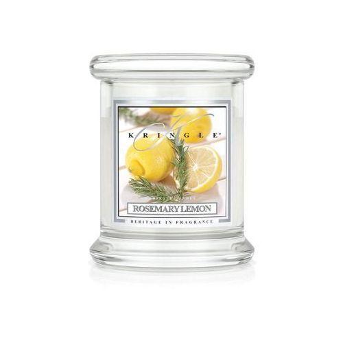 Kringle candle Rosemary lemon świeca zapachowa cytrynowy rozmaryn mały słoik 8,5oz, 240g