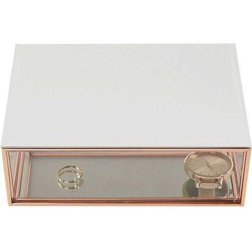 Stackers Pudełko na biżuterę szklane mini białe