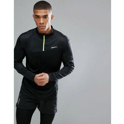 sportswear radiate running half zip sweat in black 1905387-999603 - black, Craft