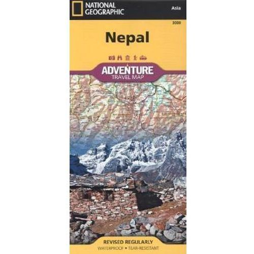 National Geographic Maps - Nepal