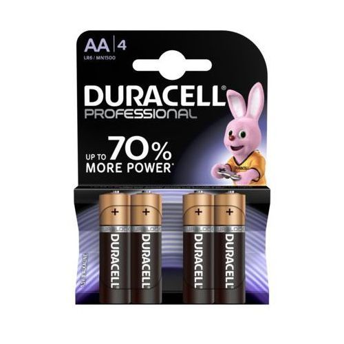 Duracell Professional aa 4szt. baterie
