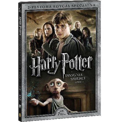 OKAZJA - Harry Potter i Insygnia Śmierci, część 1 (2-płytowa edycja specjalna) (DVD) - David Yates DARMOWA DOSTAWA KIOSK RUCHU