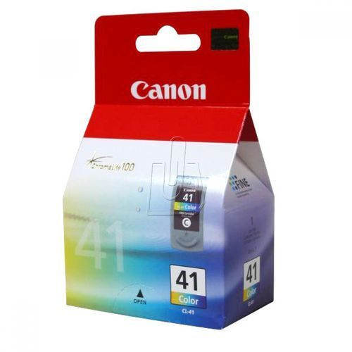 Canon  cl-41 printhead with ink color 12ml for pixma mp150 170 450 312pages (4960999273433)