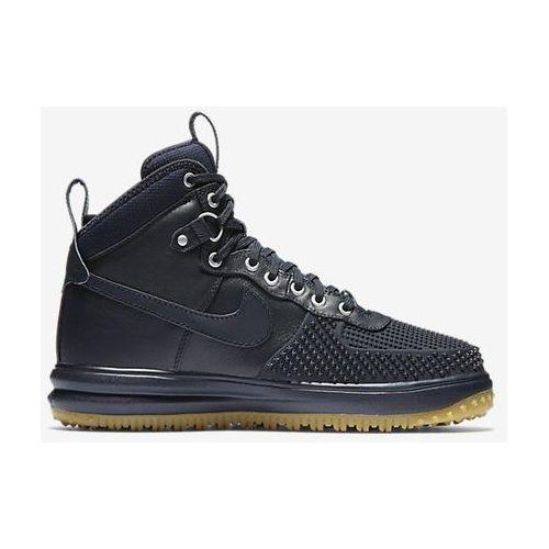 Buty Nike Lunar Force 1 Duckboot - 805899-400 - Granatowy
