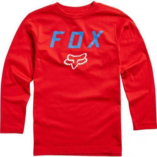 Fox_sale Fox junior dusty red koszulka z długim rękawem