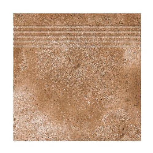 Ceramika gres Stopnica corte czerwony 33 x 33 (5902683175899)