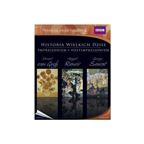 BBC. Historia wielkich dzieł. Impresjonizm i postimpresjonizm (3 DVD) (film)