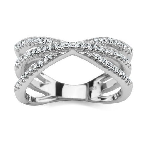 c93062553e8f06 Scarlett – srebrny pierścionek marki Biżuteria yes , Biżuteria YES ...