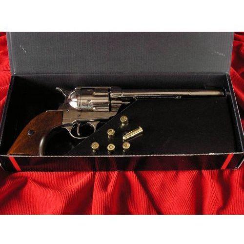 Amerykańska replika broni - rewolwer w ozdobym pudle - naboje gratis (1-1191-nq) marki Denix
