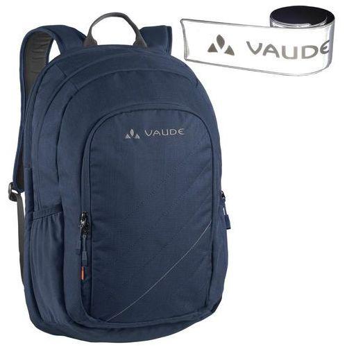 Plecak na laptopa VAUDE PETimir granatowy + GRATIS odblask, kolor niebieski
