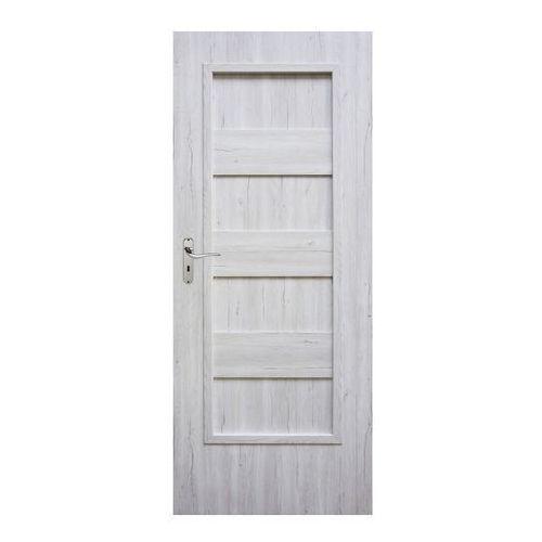 Drzwi pełne kastel 90 prawe silver marki Winfloor