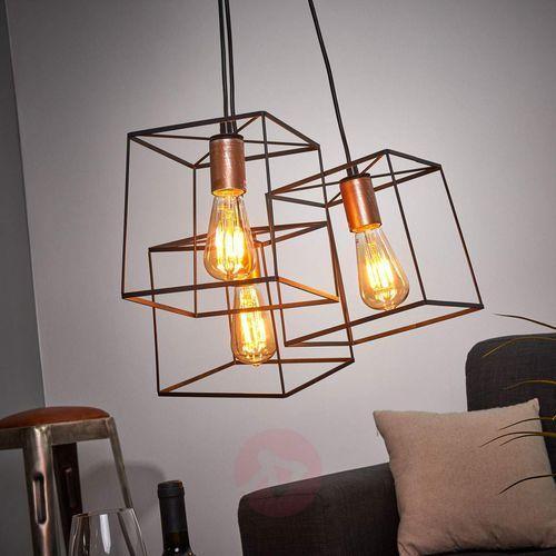 Lampa wisząca Agata w stylu Vintage (5201769066770)