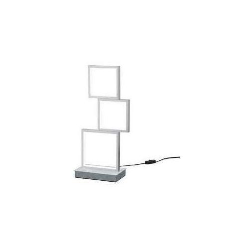 Trio sorrento 527710305 lampka stołowa 1x15w led 3000k szczotkowane aluminium