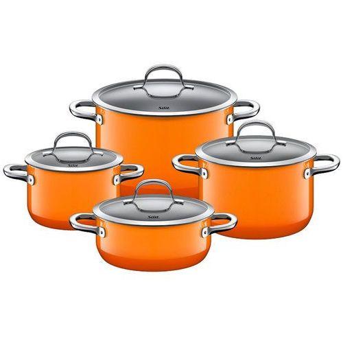 - zestaw 4cz. garnków passion orange marki Silit