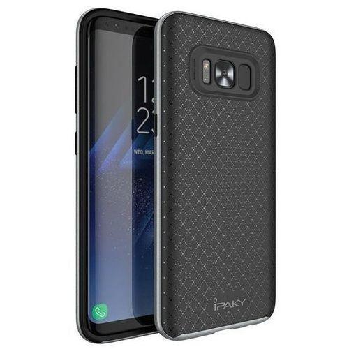 Etui iPaky Premium Hybrid Samsung Galaxy S8 Silver (5903068631597)